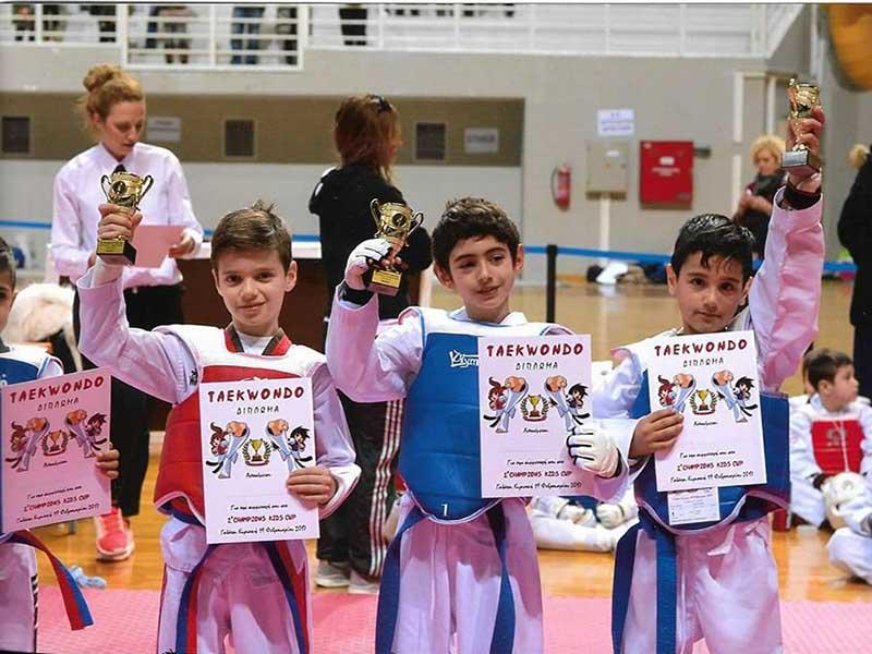 1° CHAMPIONS KIDS CUP Πρώτο CHAMPIONS KIDS CUP